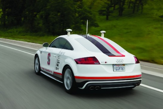Audi TTS Pikes Peak 545x363 at Nevada Grants Audi License for Autonomous Vehicles