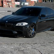 BMW M5 on ADV1 Wheels 1 175x175 at Blacked out BMW M5 on ADV1 Wheels