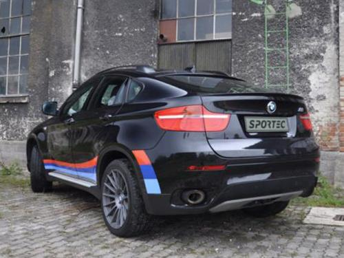 BMW X6 SP6 X 2 at Sportec BMW X6 SP6 X Introduced