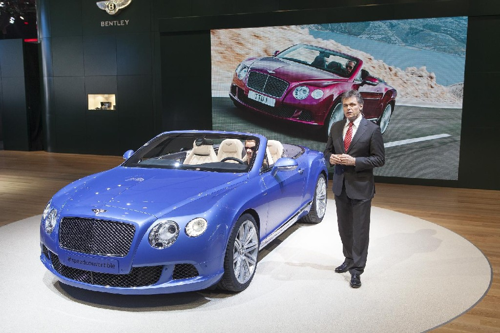 Bentley GT Speed Convertible at NAIAS 2013: Bentley GT Speed Convertible