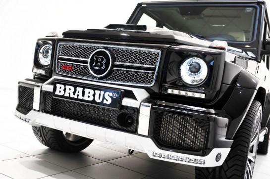 Brabus Mercedes G65 1 545x362 at 800 hp Brabus Mercedes G65 Unveiled in Qatar