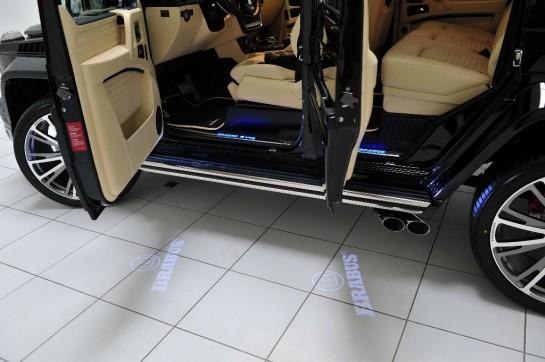 Brabus Mercedes G65 6 545x362 at 800 hp Brabus Mercedes G65 Unveiled in Qatar