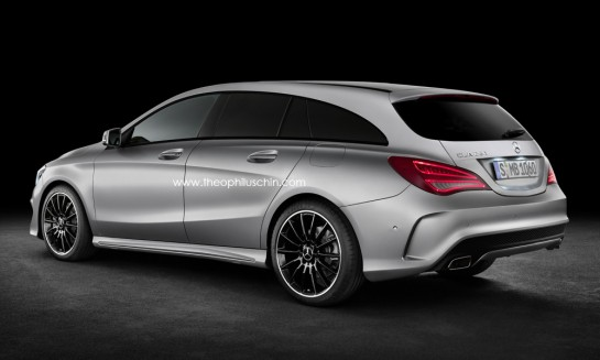 CLA shooting brake 3 545x327 at CLA Shooting Brake Confirmed by Mercedes Design Boss
