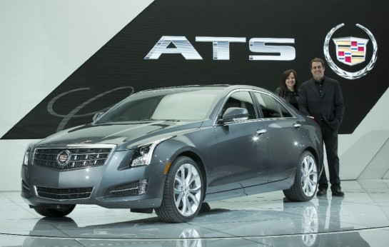 Cadillac ATS Wins 2013 North American Car of the Year 545x346 at Cadillac ATS Named 2013 North American Car of the Year