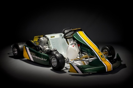 Caterham CK 01 kart 1 545x363 at Caterham CK 01 Kart Revealed