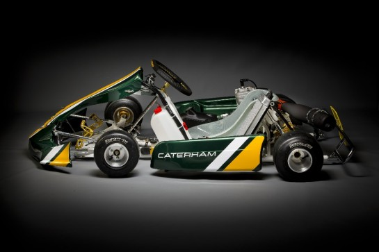Caterham CK 01 kart 2 545x363 at Caterham CK 01 Kart Revealed