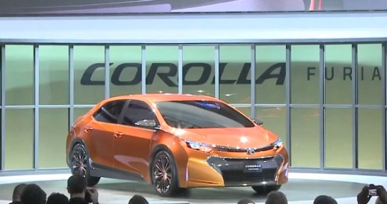 Corolla Furia 545x288 at NAIAS 2013: Toyota Corolla Furia Video