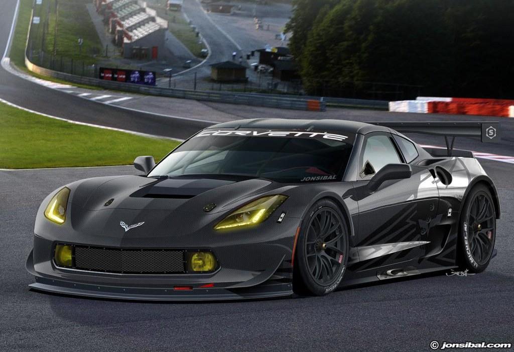 Rendering: 2014 Corvette Stingray C7R