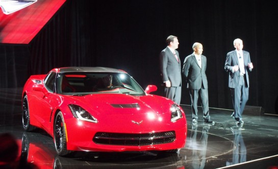 Corvette Stingray Debut Event 545x331 at Corvette Stingray Pre Debut Event   Video