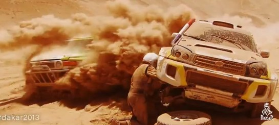Dakar 2013 545x245 at 2013 Dakar Rally Official Trailer