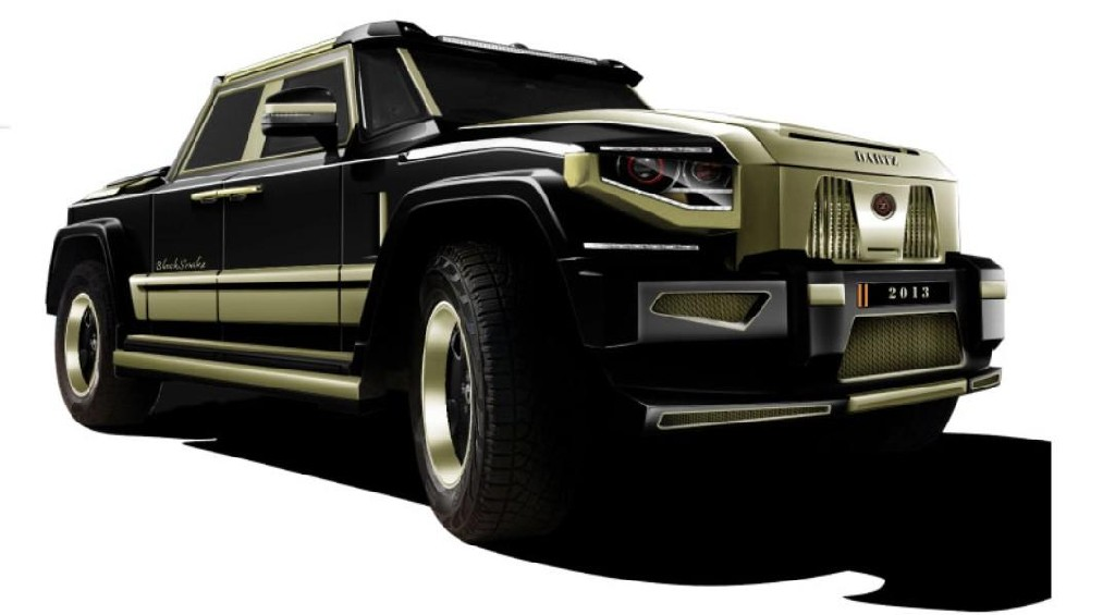Dartz Black Snake Luxury Truck Revealed