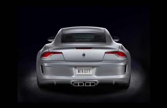 Destino Karma V8 3 545x352 at NAIAS 2013: Destino: Corvette Powered Fisker Karma
