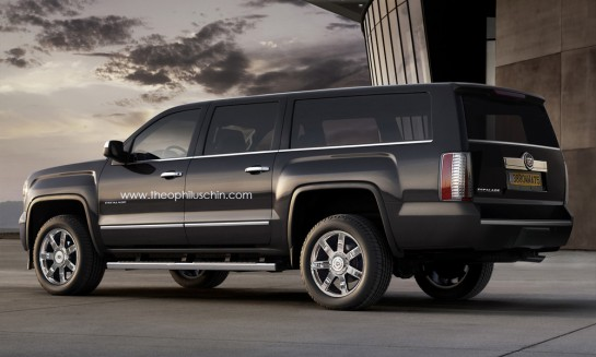 Escalade Render 1 545x327 at Rendering: New Cadillac Escalade