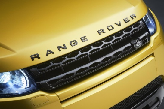 Evoque Sicilian Yellow Edition 1 545x363 at Official: Range Rover Evoque Sicilian Yellow Edition