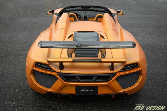 FAB Design McLaren 12C Spider 6 545x363 at FAB Design McLaren 12C Spider Unveiled