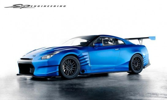 Fast and Furious 6 GT R 1 545x326 at Fast and Furious 6 Nissan GT R Revealed