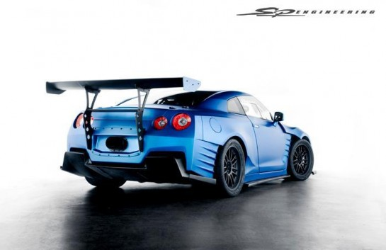 Fast and Furious 6 GT R 2 545x353 at Fast and Furious 6 Nissan GT R Revealed