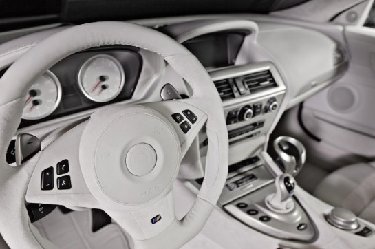 G Power M6 int 1 545x362 at G Power Interior Package for BMW M6