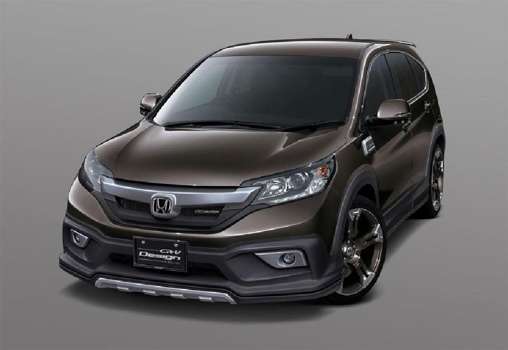 Honda CR-V Mugen Previewed in Tokyo