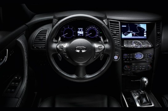 Infiniti FX Black and White Edition 4 545x362 at Infiniti FX Black and White Edition Revealed