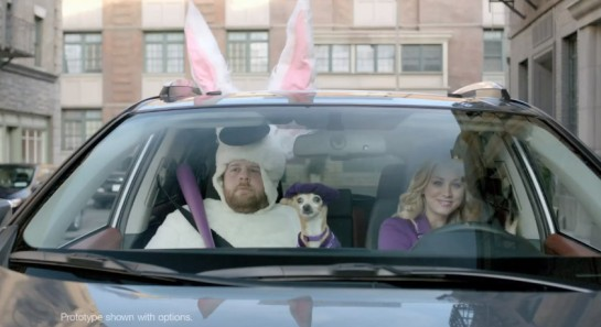 Kaley Toyota Ad 545x297 at Super Bowl Car Ads   Very Interesting Data