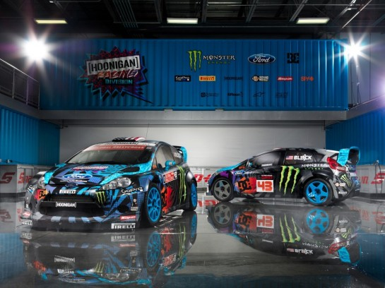 Ken Block New Livery 1 545x408 at Ken Blocks New Livery for Hoonigan Racing Division