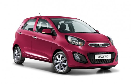 Kia Picanto White and Pink 1 545x351 at Kia Picanto White and Pink Editions Unveiled