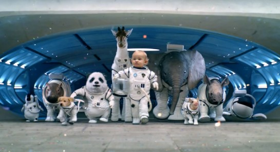 Kia SorentoAd 545x297 at Kia Sorento Super Bowl Ad Teaser: Space Babies