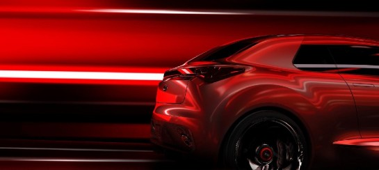 Kia concept 4 545x244 at Kia Teases New Concept for Geneva Motor Show