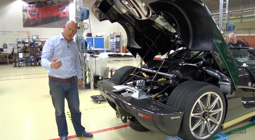 Koenigsegg S Triplex Suspension Explained Video