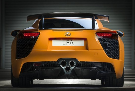 Lexus LFA Nurburgring Package 545x368 at Lexus LFA Technology Trickles Down to Future Models