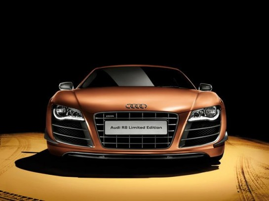 Limited Edition Audi R8 1 545x408 at China Gets Another Limited Edition Audi R8
