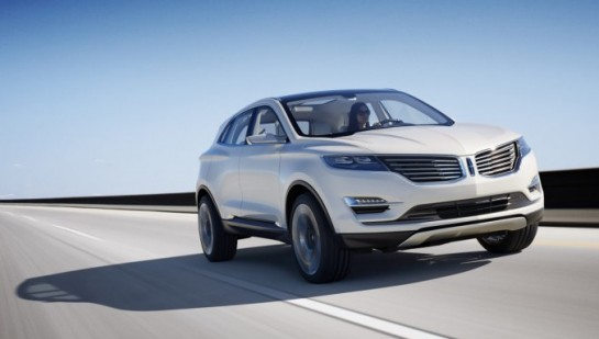 Lincoln MKC Concept 1 545x309 at NAIAS 2013: Lincoln MKC Concept
