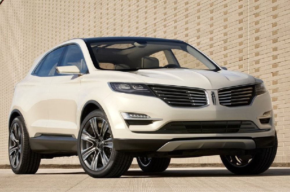 Lincoln MKC Concept at Lincoln MKC Concept Detailed in Video