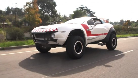 Local Motors Rally Fighter 545x311 at Jay Leno Drives Local Motors Rally Fighter   Video
