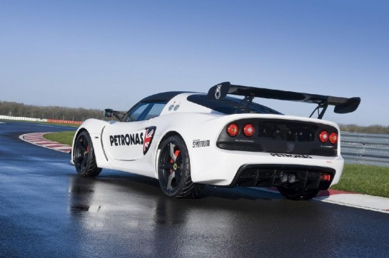Lotus Exige V6 Cup R 1 545x362 at Lotus Exige V6 Cup Debuts at Autosport Show