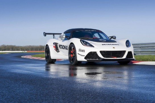 Lotus Exige V6 Cup R 2 545x362 at Lotus Exige V6 Cup Debuts at Autosport Show