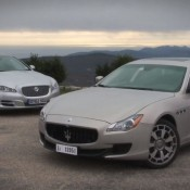 Maserati Quattroporte vs Jaguar XJ 175x175 at Video: New Range Rover Meets The Old Lads