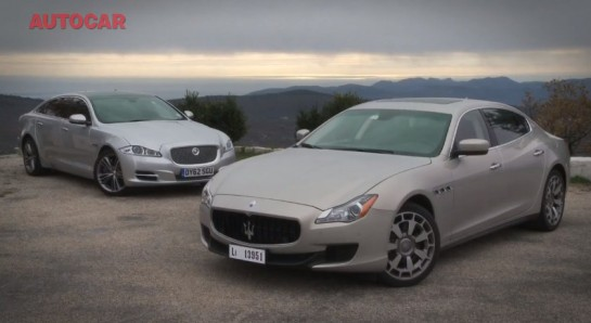 Maserati Quattroporte vs Jaguar XJ 545x298 at Autocar Compares: Maserati Quattroporte vs Jaguar XJ