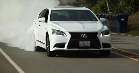 Matt Farah Lexus LS 545x287 at Matt Farah Reviews Lexus LS460 F Sport