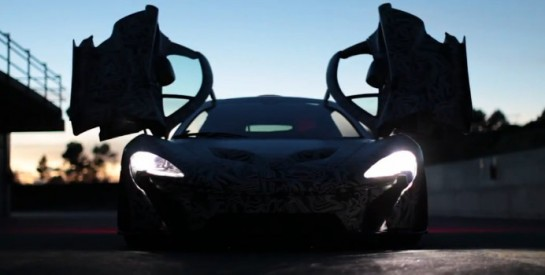 McLarean P1 TEaser 545x275 at McLaren P1 Production Version Teased   Video