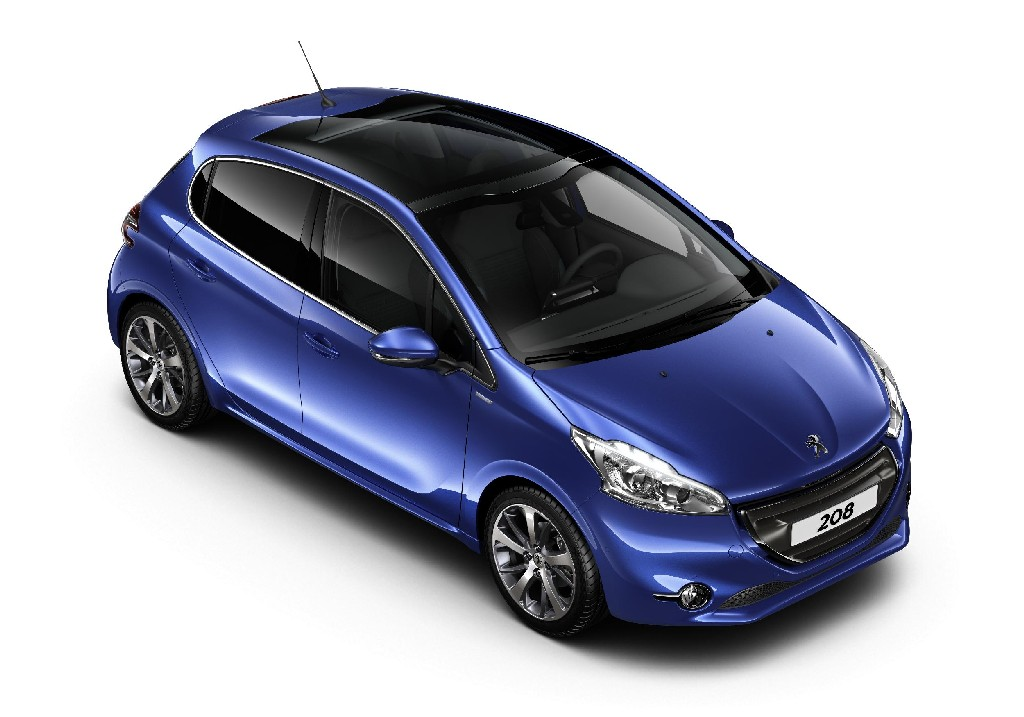 peugeot 208 intuitive special edition announced. Black Bedroom Furniture Sets. Home Design Ideas