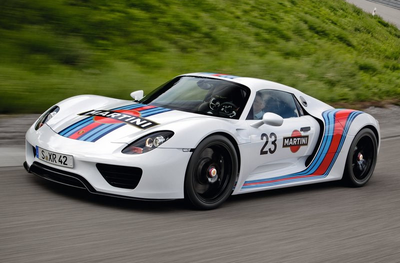 2014 Porsche 918 Spyder Official Pricing