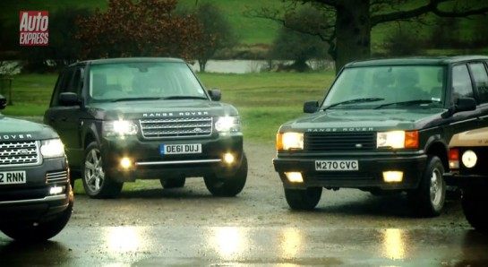 Range Rover Bunch 545x298 at Video: New Range Rover Meets The Old Lads