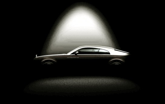 Rolls Royce Wraith 2nd Tease2r 545x343 at Rolls Royce Wraith Second Teaser Shows The Profile