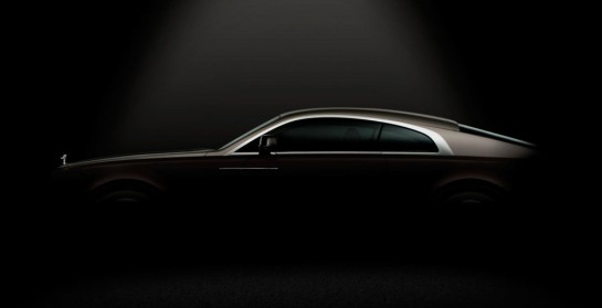 Rolls Royce Wraith 2nd Teaser1 545x279 at Rolls Royce Wraith Second Teaser Shows The Profile