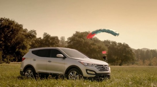 SAnta Fe Dont Tell 545x301 at Hyundai Santa Fe Dont Tell Ad: Super Bowl Preview
