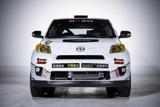 Scion xD RAlly 2 545x363 at 2013 Scion xD Rally Car Revealed