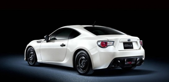 Subaru BRZ RA Racing 2 545x264 at Subaru BRZ RA Racing Announced