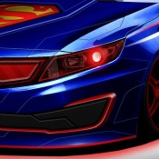 Superman Themed Optima 175x175 at Kia Cross GT Concept Teased for Chicago Debut